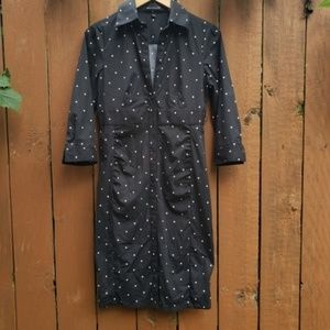 EXPRESS DESIGN STUDIO polka dot dress size 8